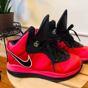 Limited Edition Hot Pink Lebron James  Sneakers